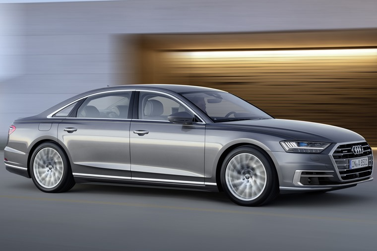 The latest Audi A8 – the closest you can currently get to an automated vehicle?