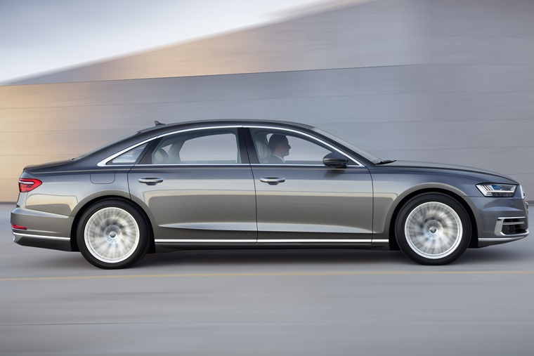 Autonomous tech and mild-hybrid drivetrains feature across the new Audi A8 range.
