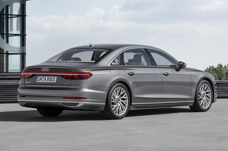 Available later in the year, the new A8 will make its public debut at the Frankfurt Motor Show.