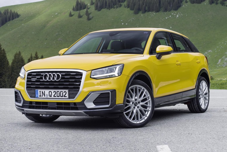 Right on cue, here's the Audi Q2!