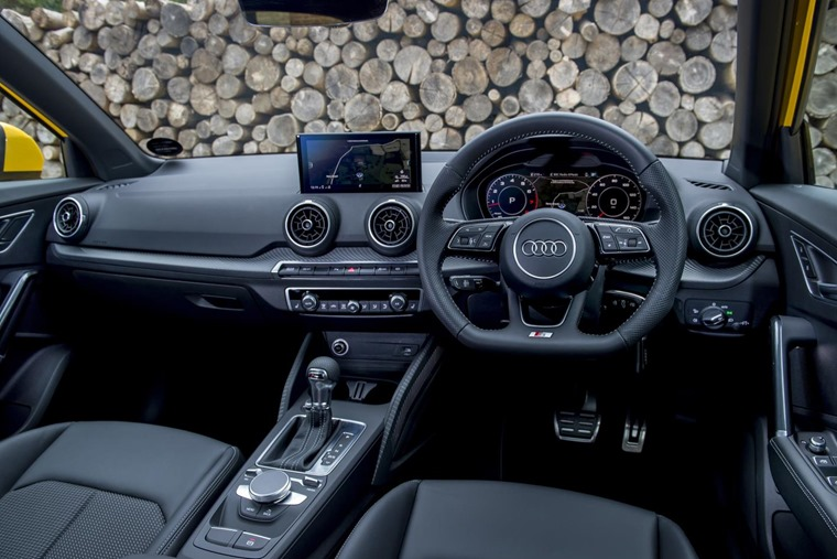 Interior quality is second to none, and the luxury touches are impressive too, particularly on S Line trim (pictured)