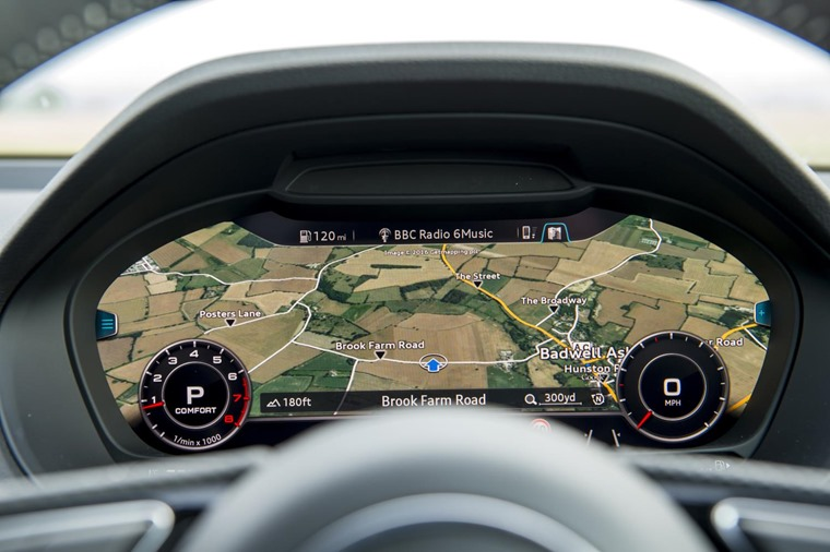Audi's Virtual Cockpit is an attractive option, and one of the best driver-information system currently made.