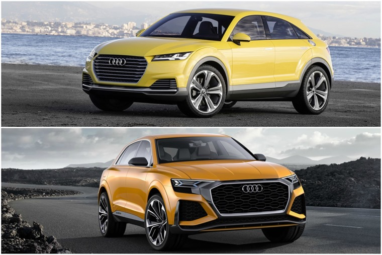 New Audi Q4 and Q8 concepts will be a reality by 2019.