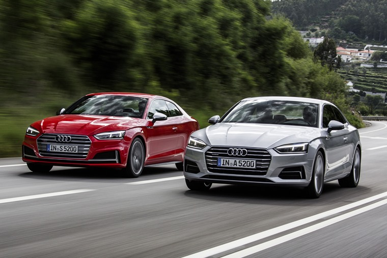 Audi A5 offers a range of engines suitable for everyone