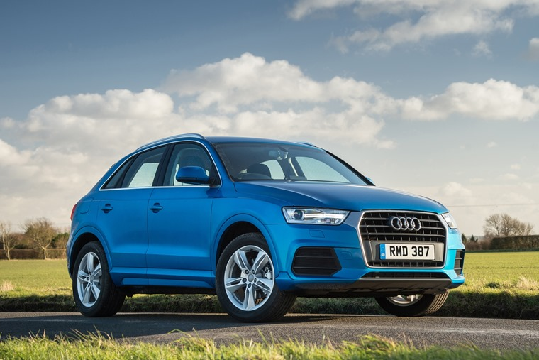See all Audi Q3 deals for under £300