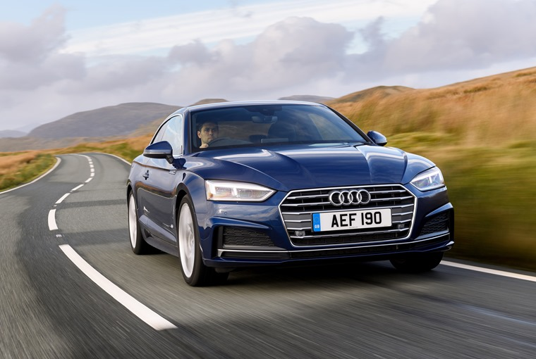Audi A5 very much feels like the sporty equivalent to the A4