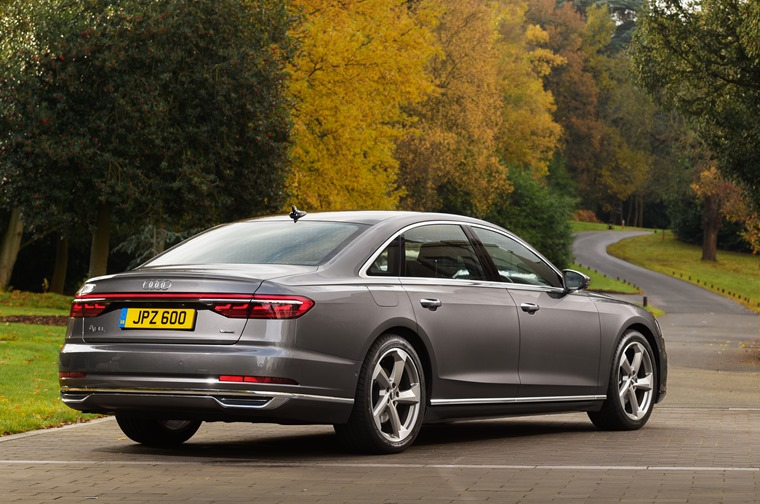 The A8 makes its debut with two re-engineered V6 engines – a 3.0 TDI and TFSI