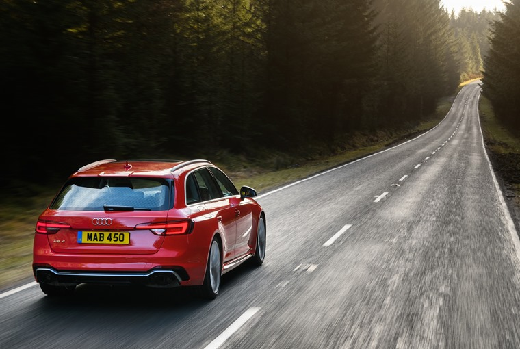 Audi RS4 Avant demands adventure