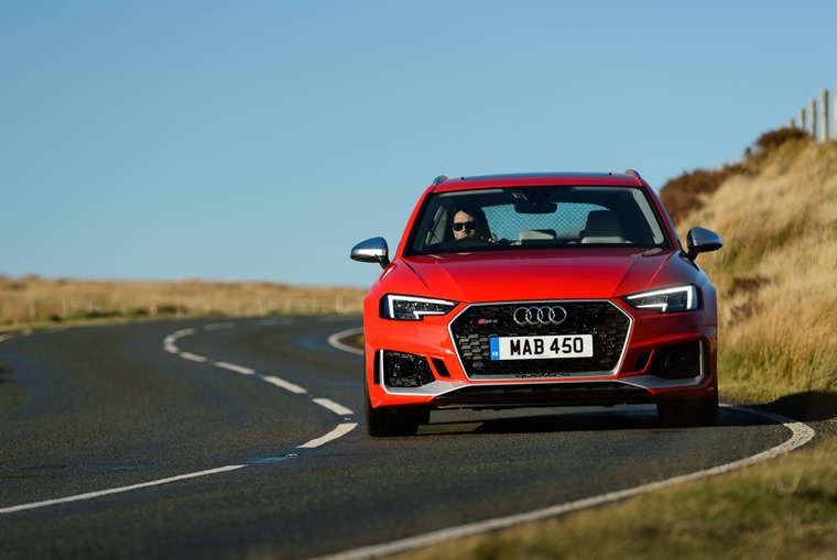 """The Audi RS4 Avant is ruthless on any form of tarmac thanks to the level of stability the chassis demonstrates"""
