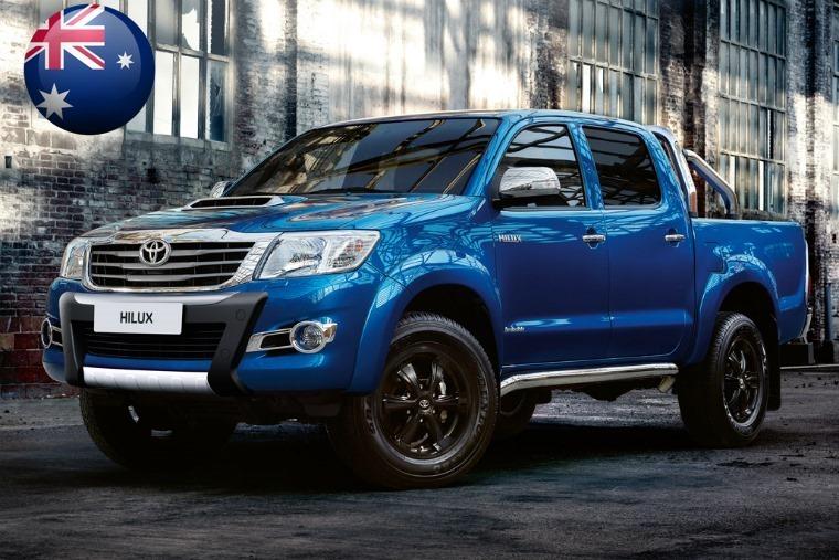 Australia Toyota Hilux