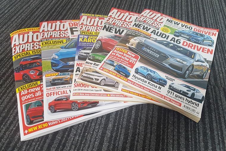 AutoExpress magazines