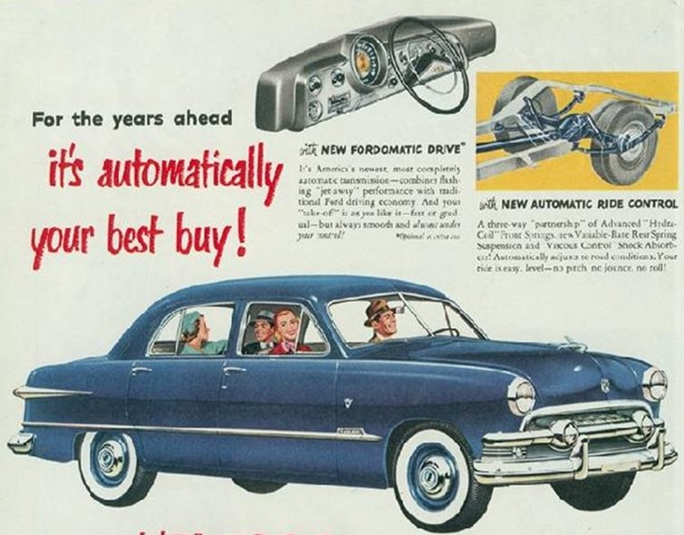 Automotive advertising has changed drastically over the years