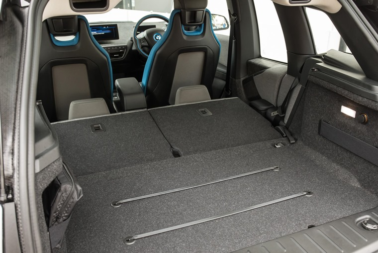 BMW i3 boot space.