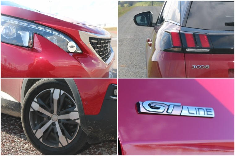 Peugeot 3008 exterior detail