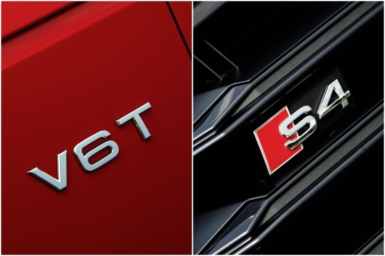 The only things that really give the S4's power away is subtle badging.