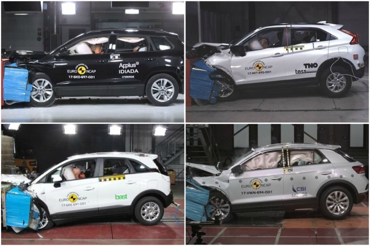 Top marks all round in latest set of Euro NCAP tests.