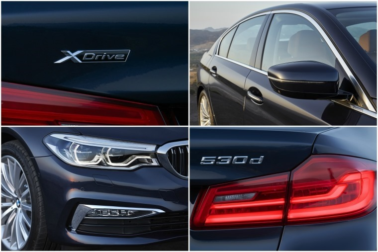 Our 530d SE featured BMW's reknowned xDrive all-wheel-drive system.