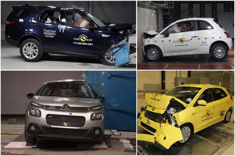 The latest set of Euro NCAP results are in.