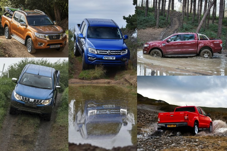 Top five double-cab pick-up trucks for under £250 per month