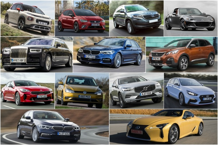 These are the 13 shortlisted vehicles in with a chance of bagging the UK Car of the Year Award on 24 February.