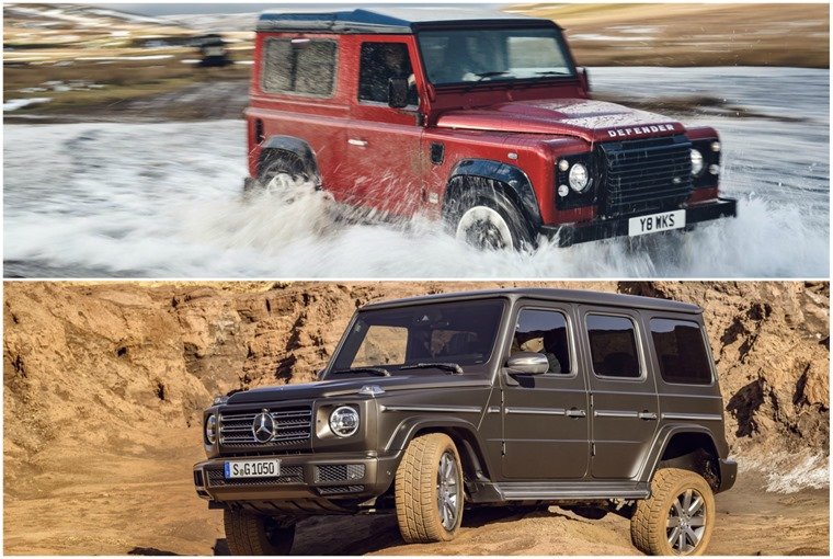 But the two are evenly matched when it comes to off-road ability.