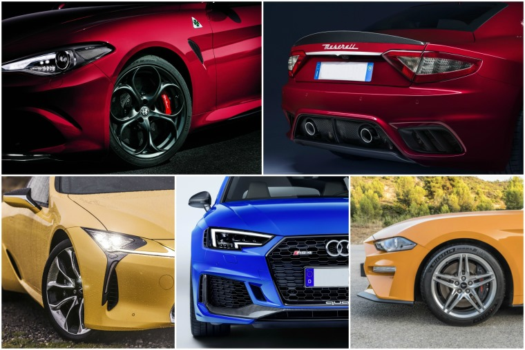 Top five cars we're in love with this Valentine's Day