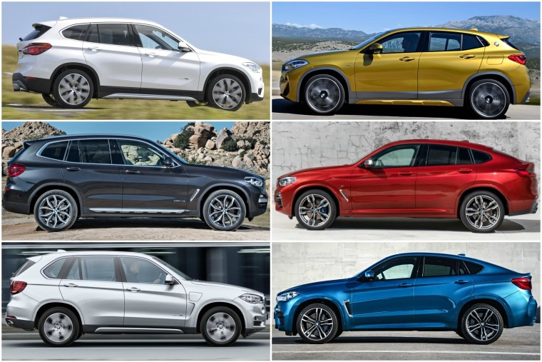 BMW now offers sportier versions of all its 'traditional' SUVs.