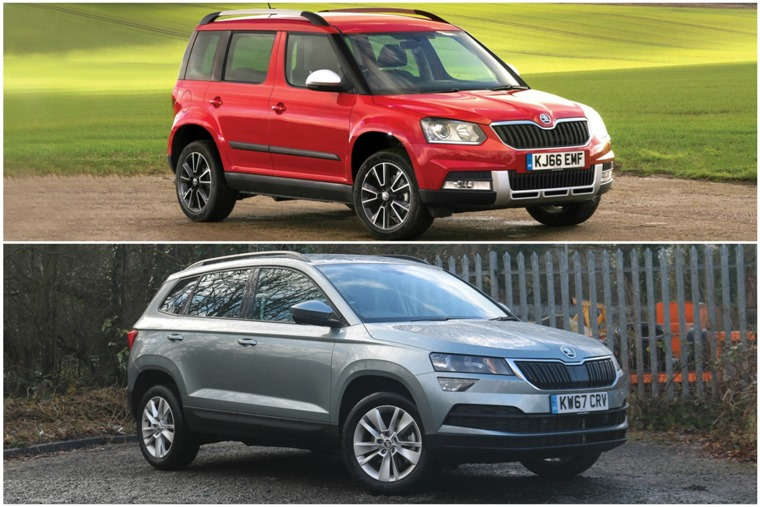 Can the new Skoda Karoq fill the Yeti's boots?