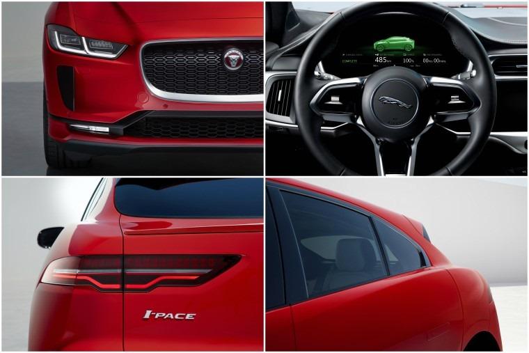 Jaguar I-Pace collage
