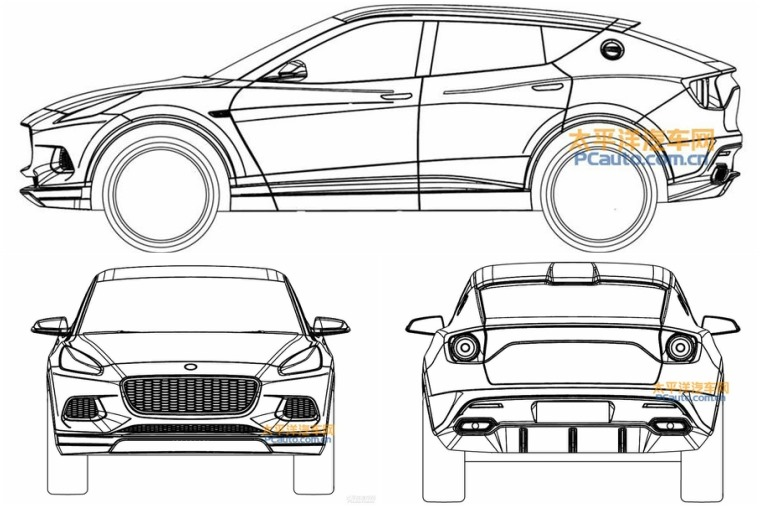 Leaked images show what Norfolk-based Lotus has planned for its upcoming SUV.