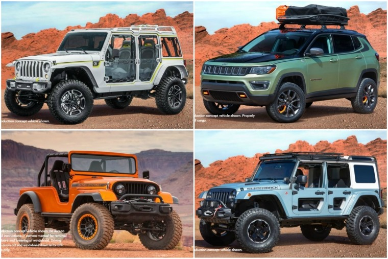 Some of the crazy concepts that'll be on the Safari this year...