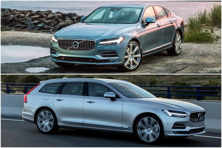 Styling cues from the original XC90 are still present on other models in the current line-up.