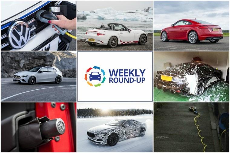 Weekly round-up: Tesla bottlenecks, plug-in neck breakers and Skoda bottle openers