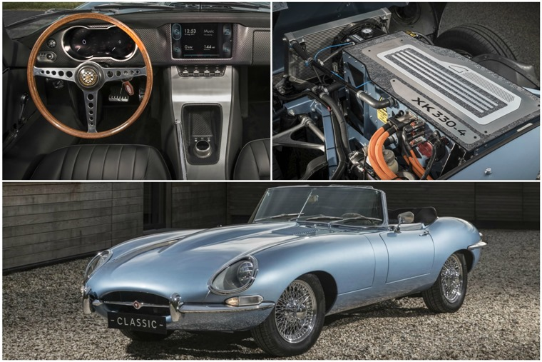 The E-Type combines classic style with clean new tech.