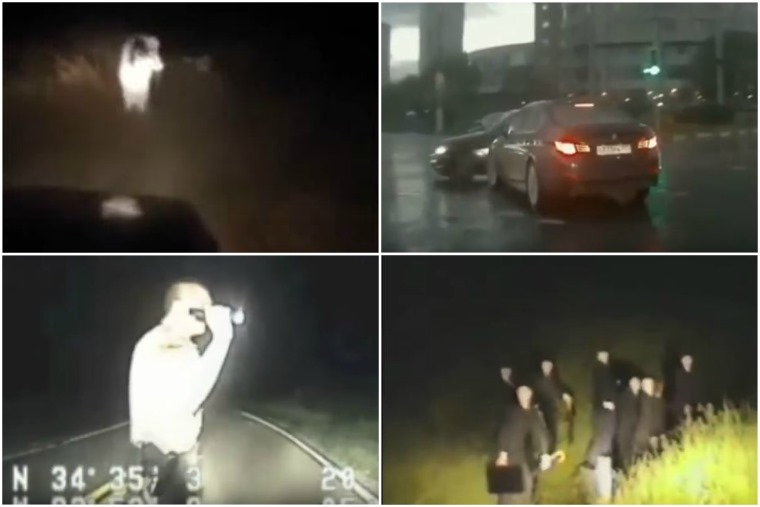 We've trawled the web to find you five of the freakiest dashcam clips.