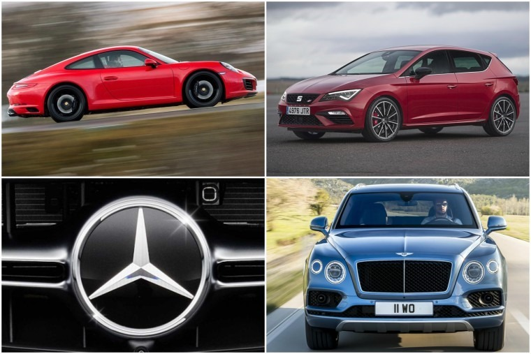 Porsche, Leon, Bentley and Mercedes are all popular car-related choices.
