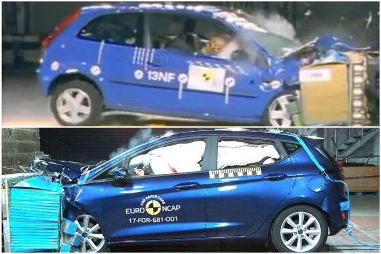 Crash standards have also moved on, as has Euro NCAP's camera equipment...