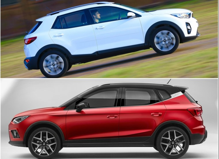 Kia Stonic (above) or Seat Arona (below) – which would you pick?