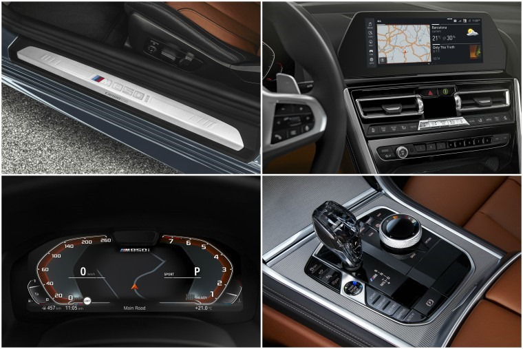 BMW 8 Series interior details