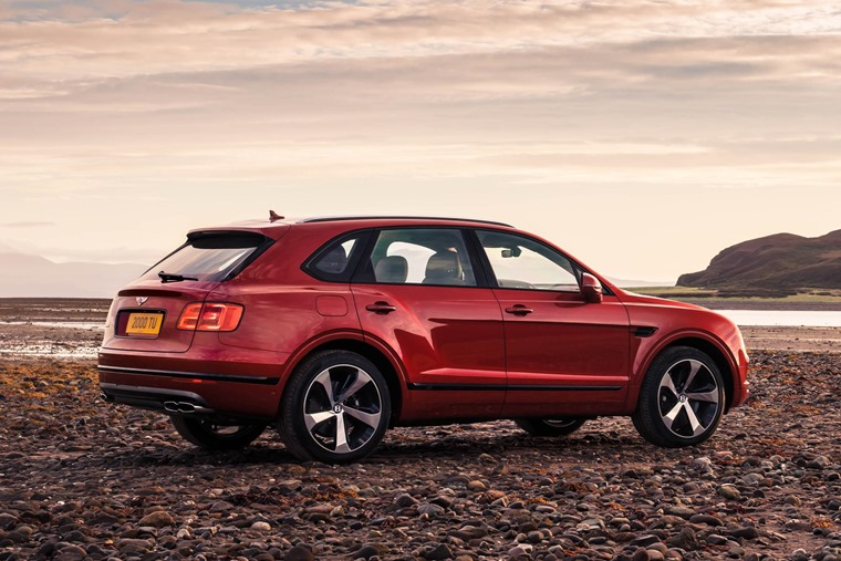 The Bentayga V8 petrol is the third model in the Bentayga range, and is expected to be available this spring