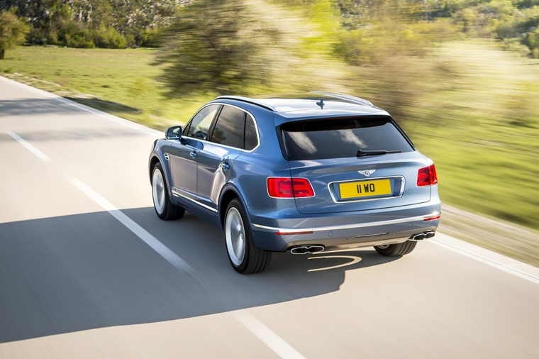 Priced from £135,800, the diesel Bentayga undercuts its W12 sibling by around £25,000.