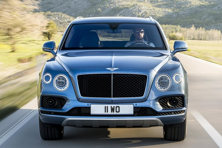The Bentayga SUV is the first Bentley ever to harness the power of diesel.