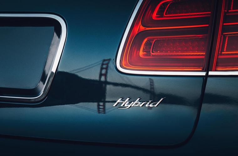 Bentley Bentayga hybrid badge
