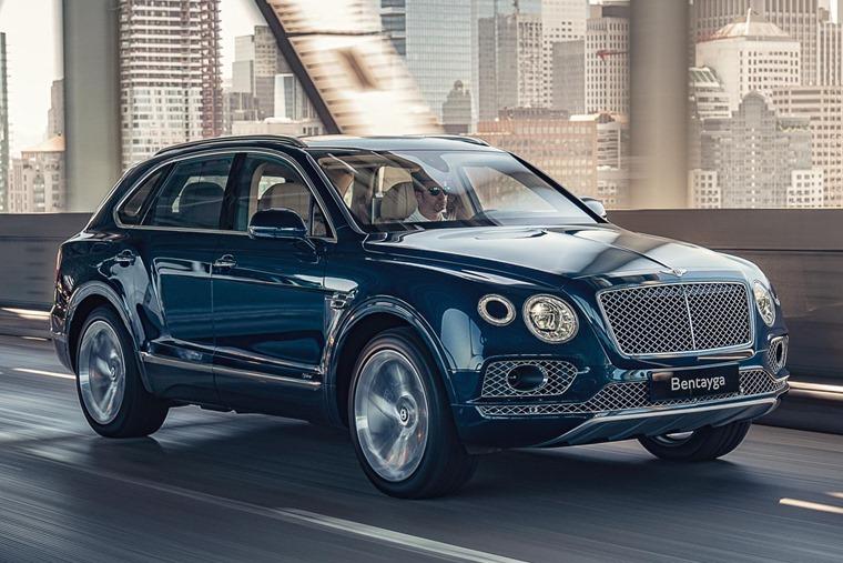 Bentley Bentayga hybrid front