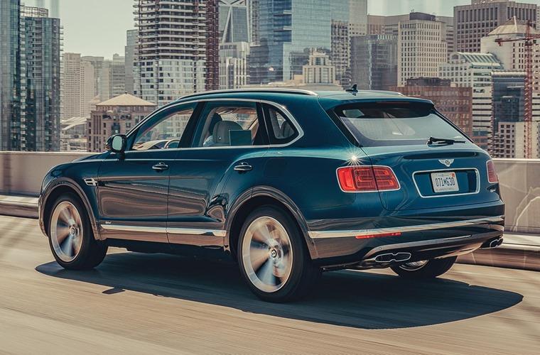 Bentley Bentayga hybrid rear