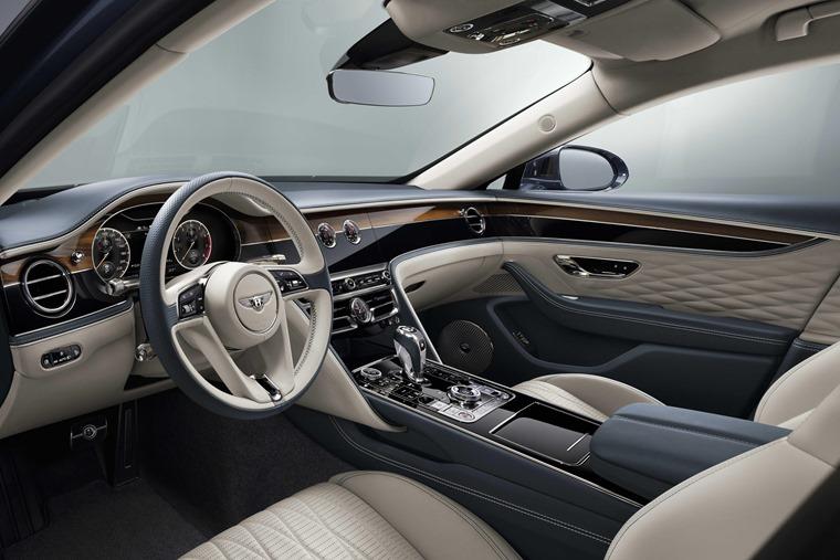 Bentley Flying Spur 2019 interior