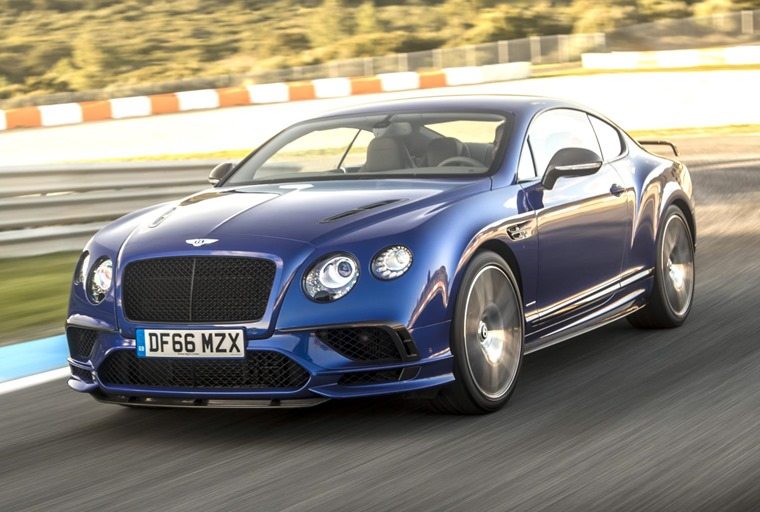Bentley's new Continental Supersports