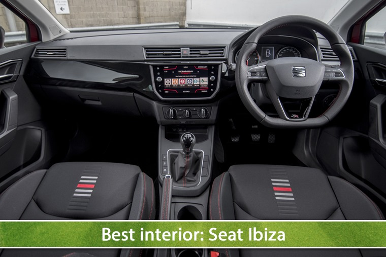 Best interior: Seat Ibiza