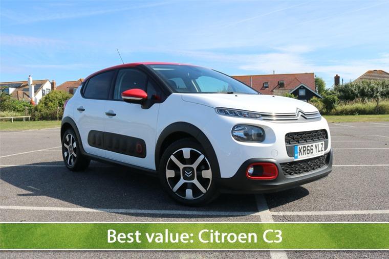 Best value: Citroen C3
