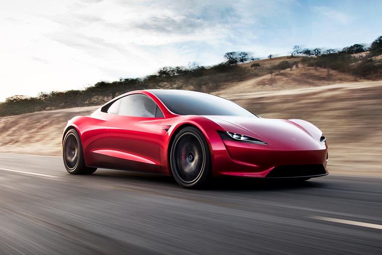 Tesla Roadster 2020 front